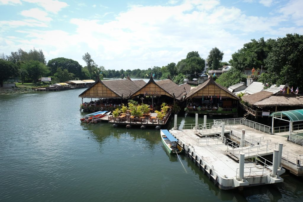 Raft House à Kanchanaburi