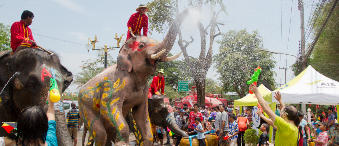 5 raisons de ne pas rater Songkran 2017 en Thailande