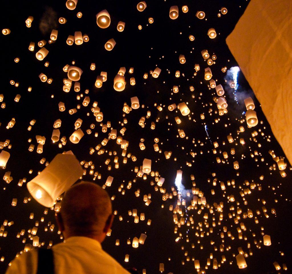 Fête des lanternes, Thailande