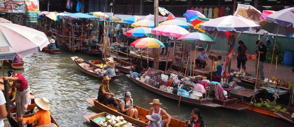 Le marché flottant à Bangkok 2017, le meuilleur lieux d'intérêt à faire